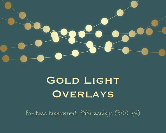 Gold light clipart, gold string lights clipart, gold light overlays, gold  bokeh, gold fairy lights, metallic light, metallic bokeh, Bokeh Clipart from  PaperFarms hdclipartall.com