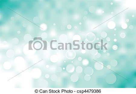 Vector Turquoise Bokeh