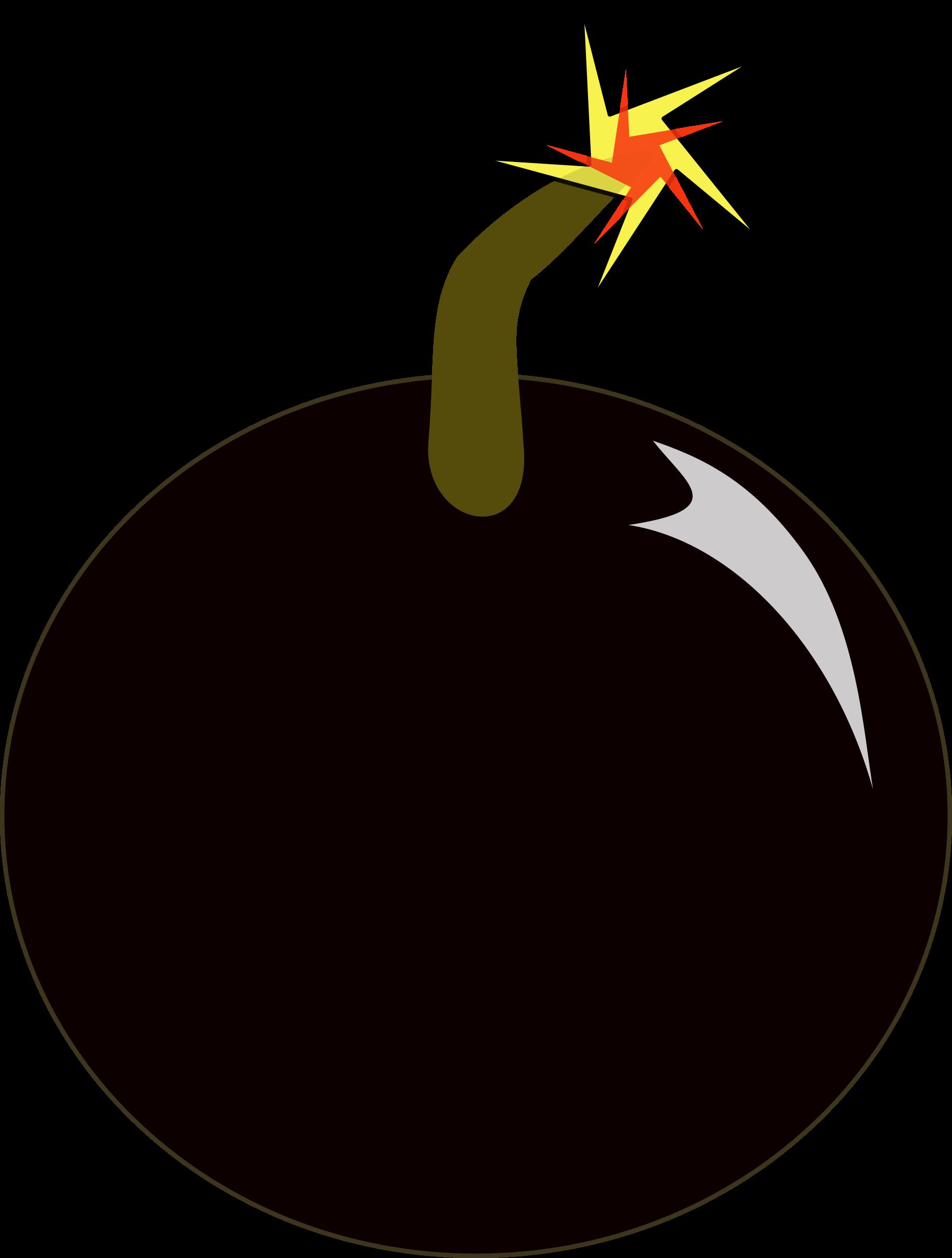 Bomb Clip Art. BIG IMAGE (PNG)