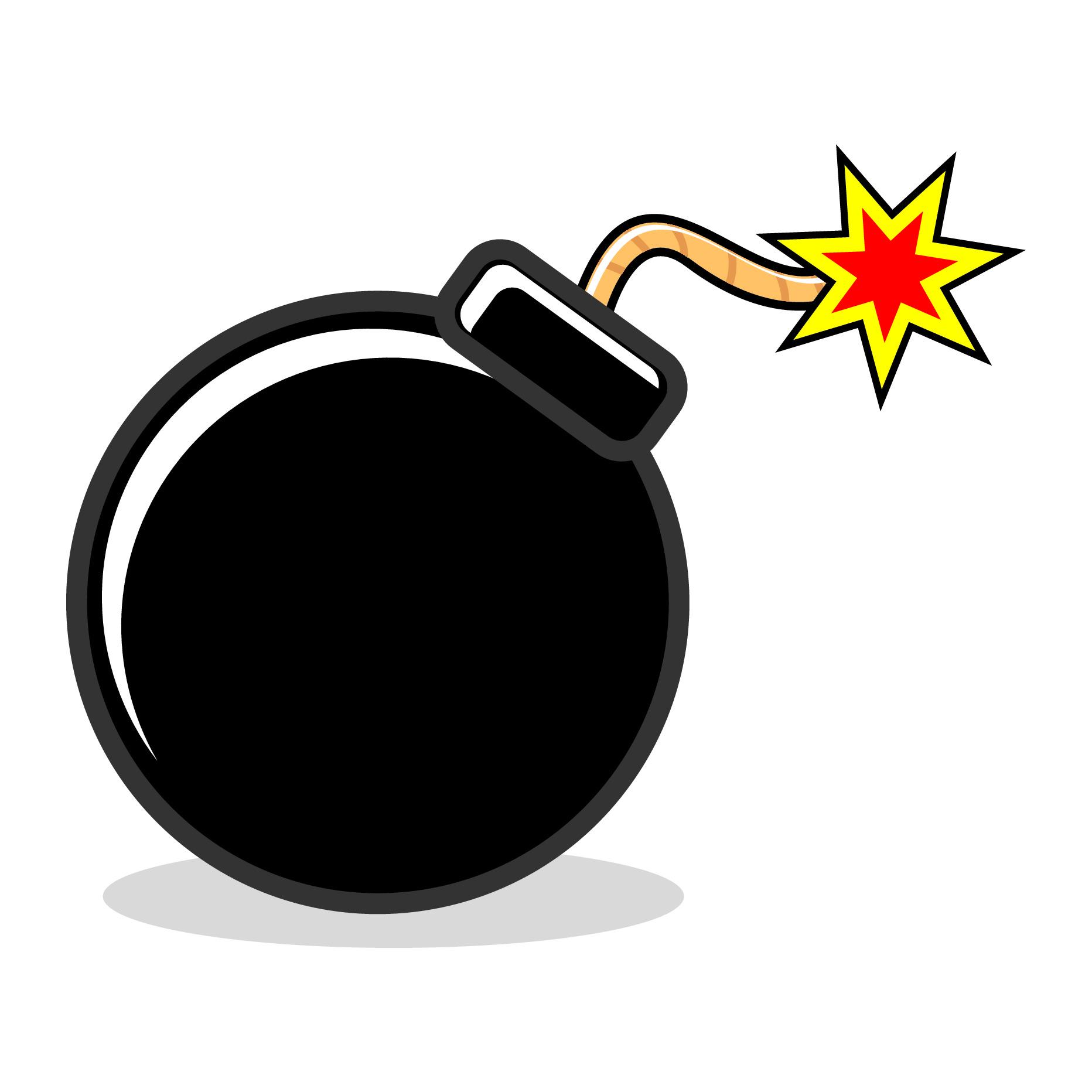Bomb Clipart #171