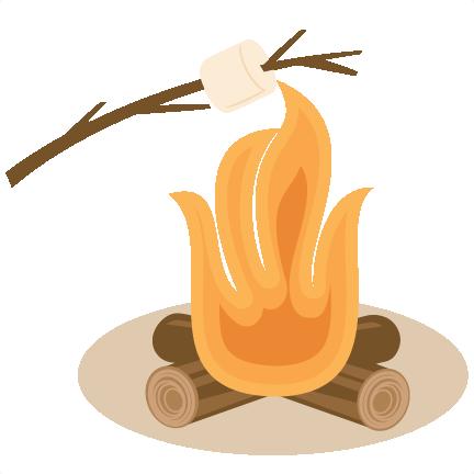 Bonfire Marshmallows Fire Vector Clip Clipart Free Clip Art Images
