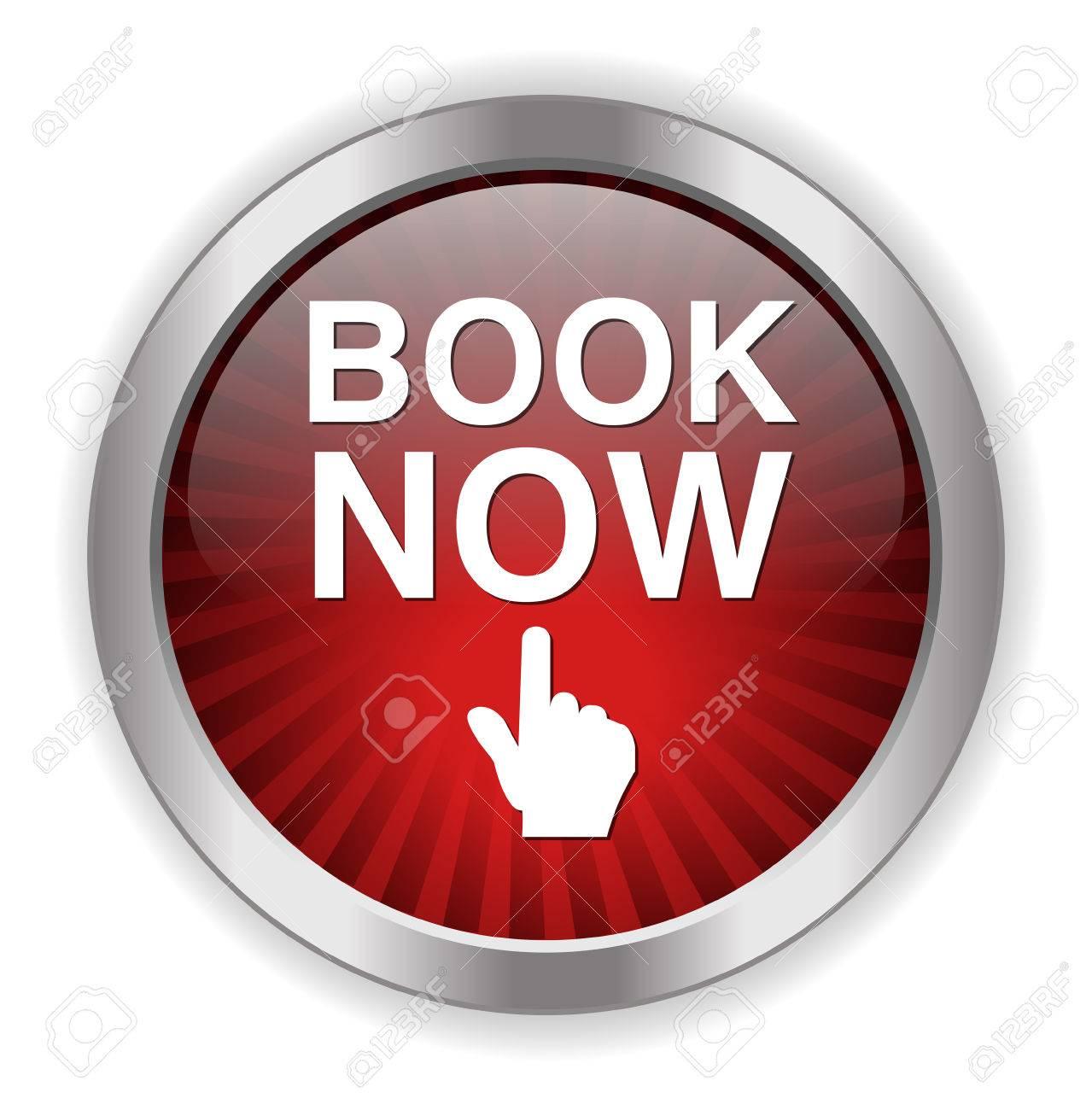 book now button Stock Vector - 38290610