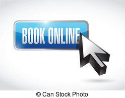 . ClipartLook.com book online button and cursor. illustration design over a. ClipartLook.com ClipartLook.com