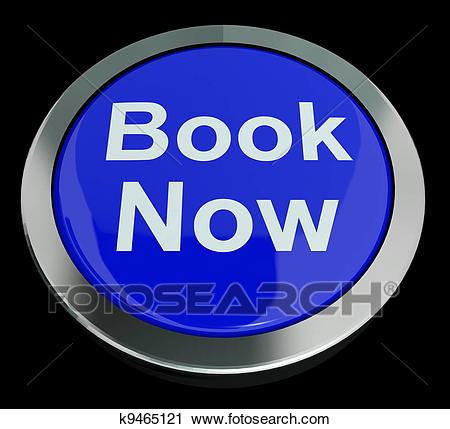 Clipart - Blue Book Now Button For Hotel Or Flight Reservation. Fotosearch  - Search Clip