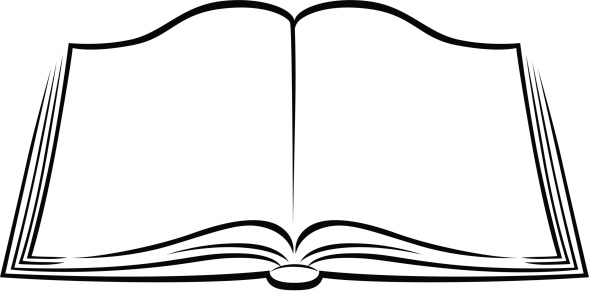 Books book clipart black and white