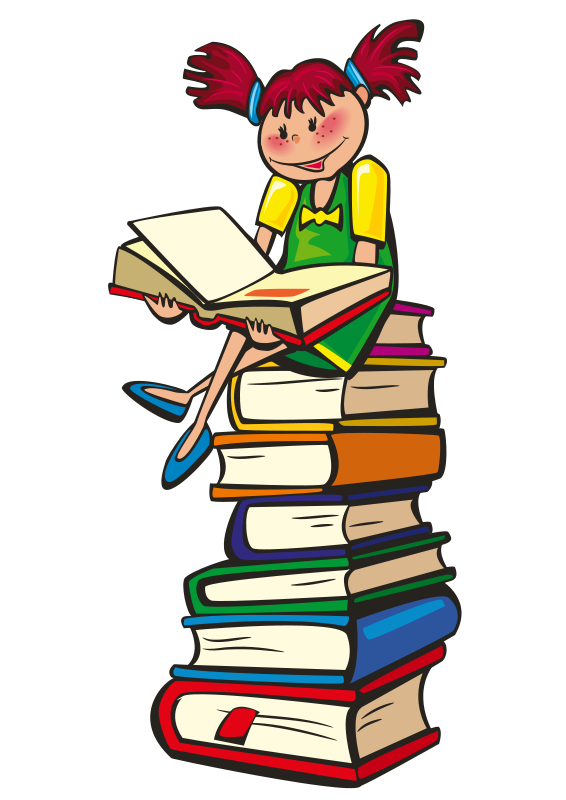 books reading clipart. schooling clipart