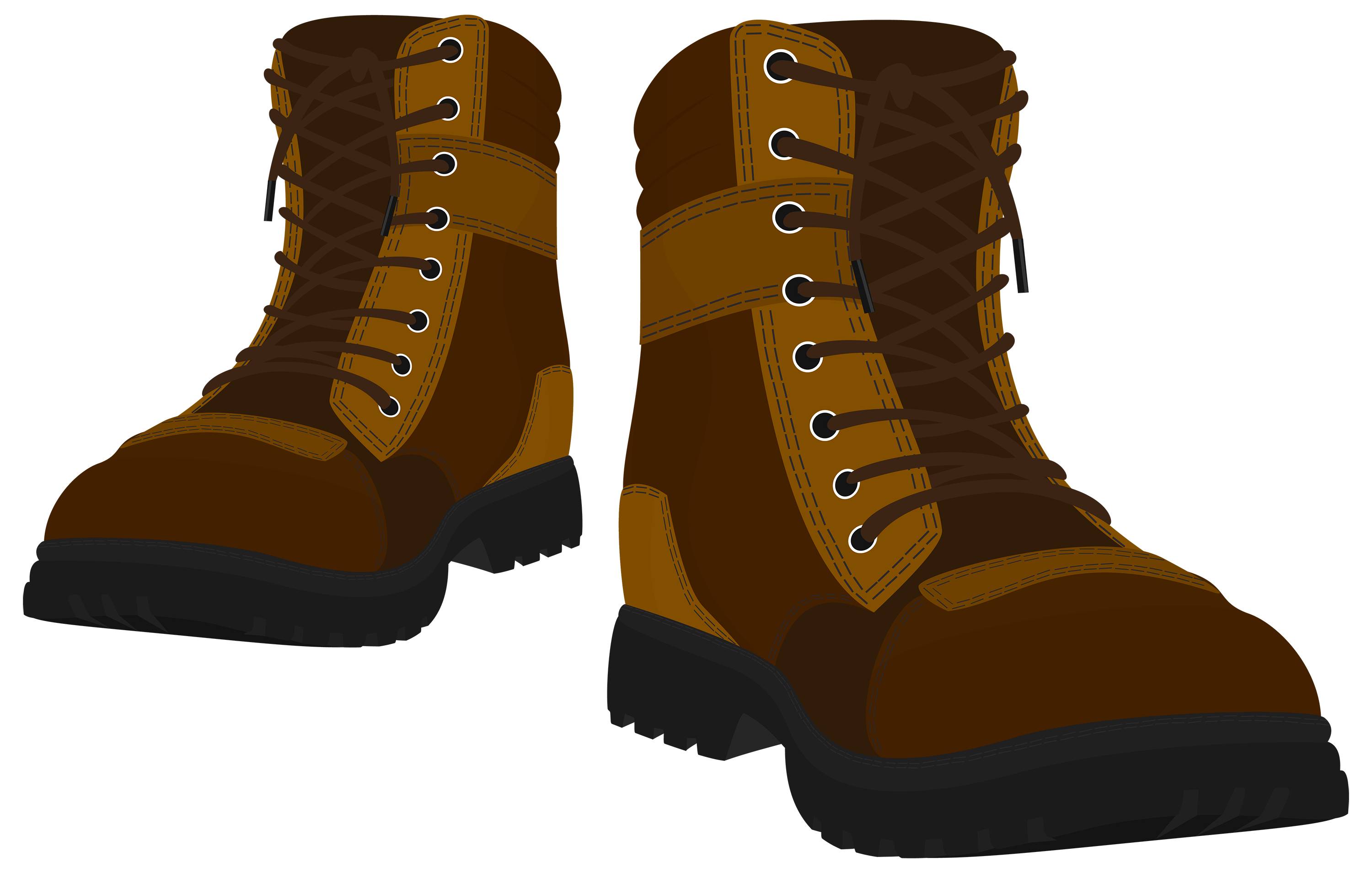 Boots clipart brown boot #8
