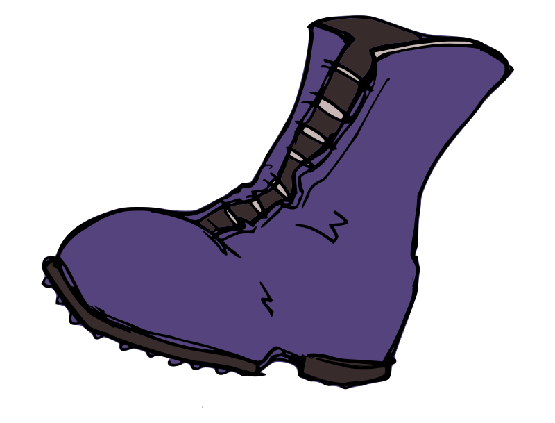 Briliant Boot Clipart 44 For  - Boot Clipart