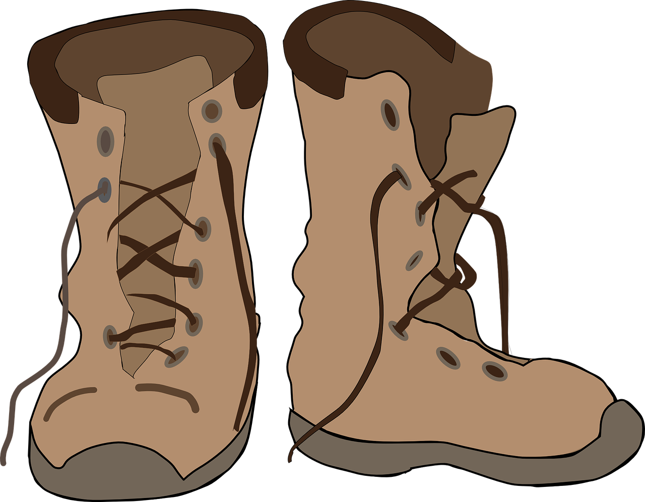 Free Leather Boots Clip Art