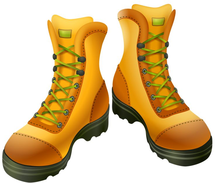 Outdoor clipart walking boot #6
