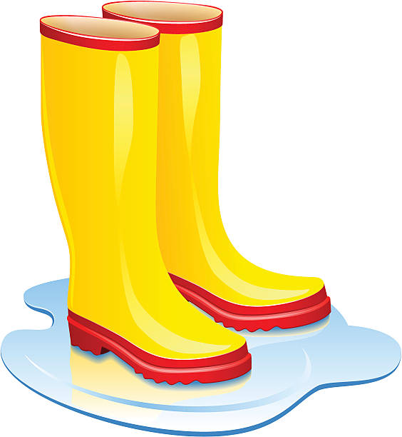 Rain Boots Boots Clipart Wet Pencil And In Color Boots