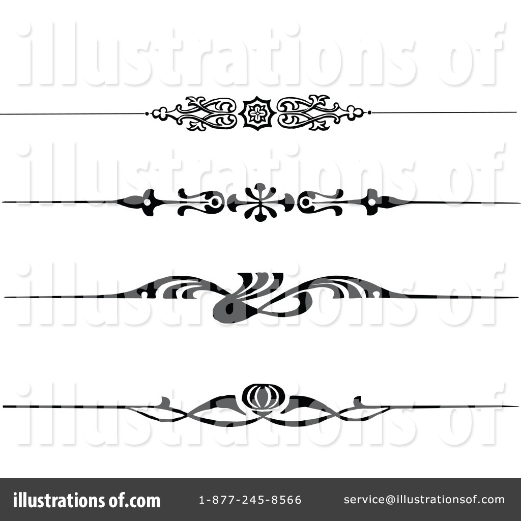 Royalty-Free (RF) Border Clipart Illustration #1113168 by Prawny Vintage