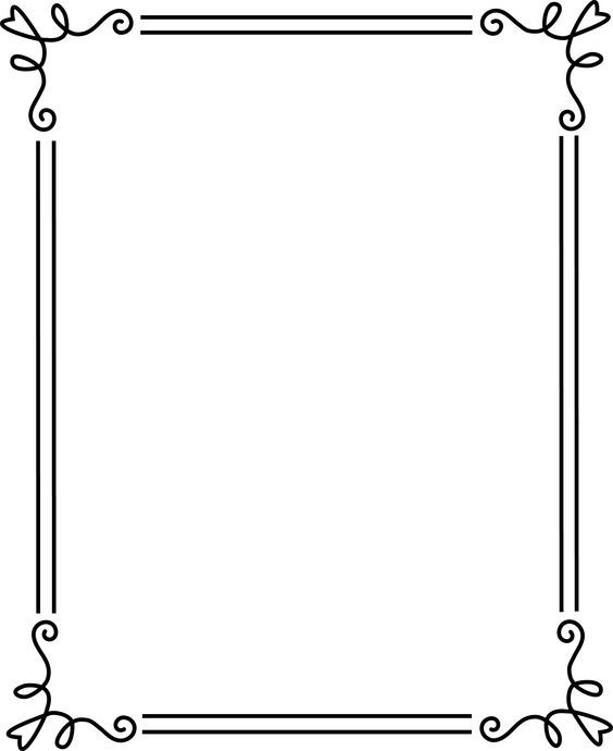 5 Free Clipart Borders And Frames Preview Borders And Frame Hdclipartall