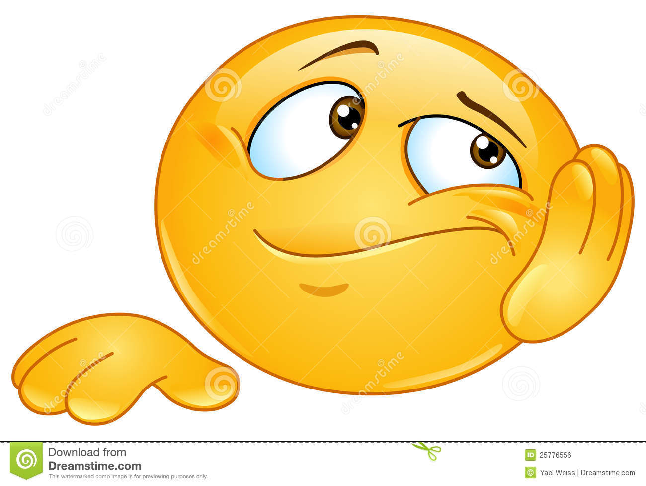 Bored Emoticons Clipart