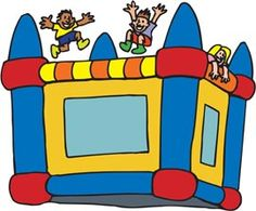 Bounce House Party Ideas On Pinterest Bounce Houses Clip Art And