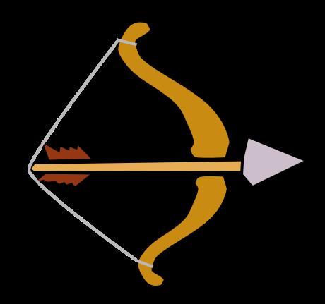 Bow And Arrow Clip Art Clipart Best