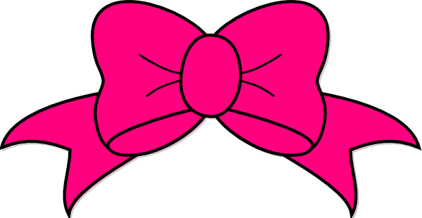 Transparent Bow Clipart #1