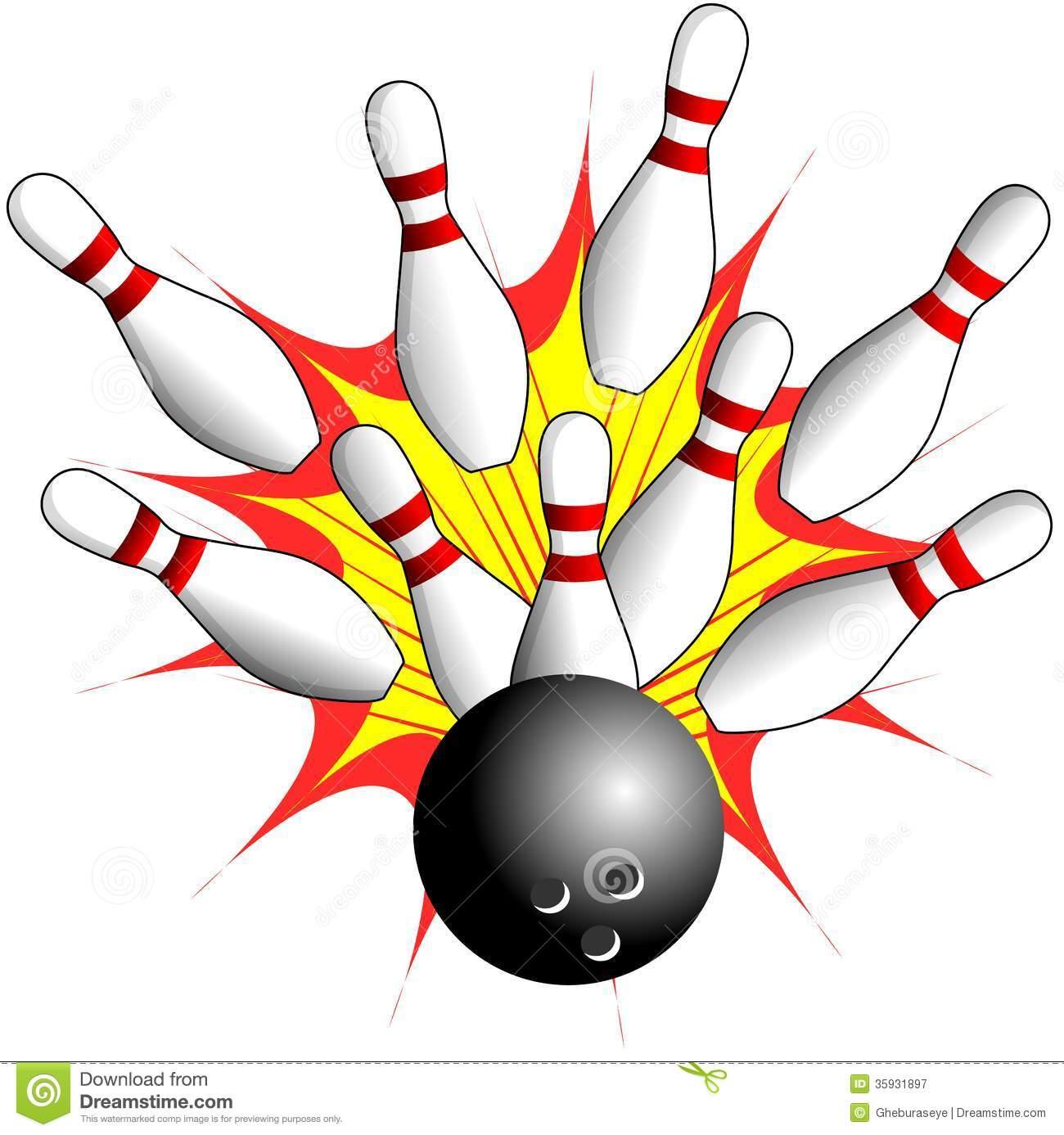 bowling alley clip art