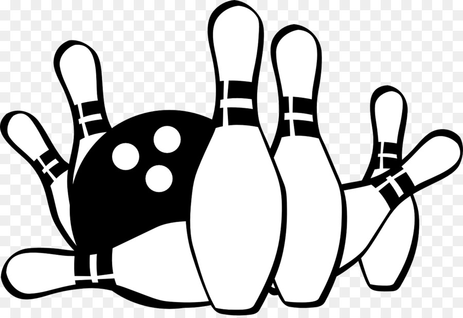 Bowling Clipart Black And White 5 » Clipart Station