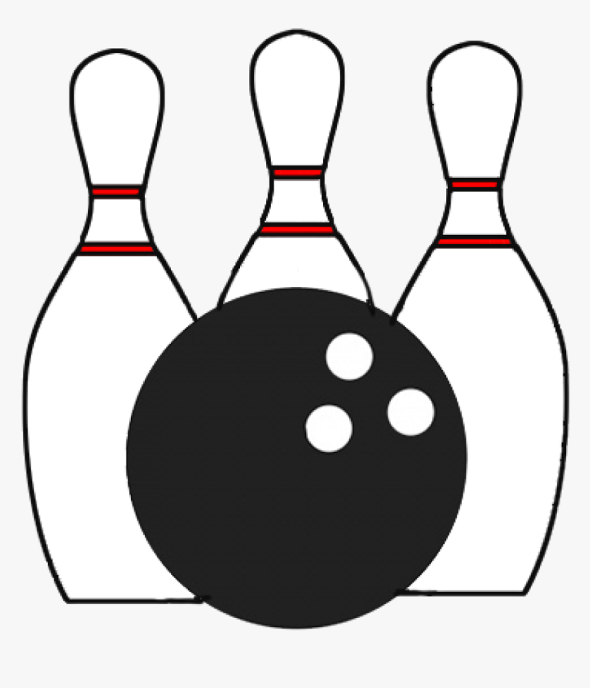 Bowling Clipart, HD Png Bowling Clipart - kindpng