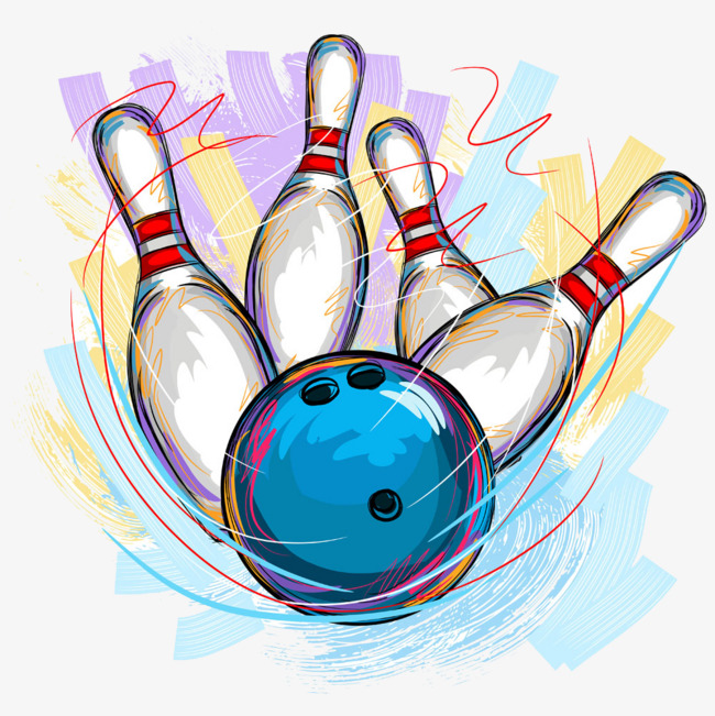Bowling Clipart Png 1 » Clip - Bowling Clipart