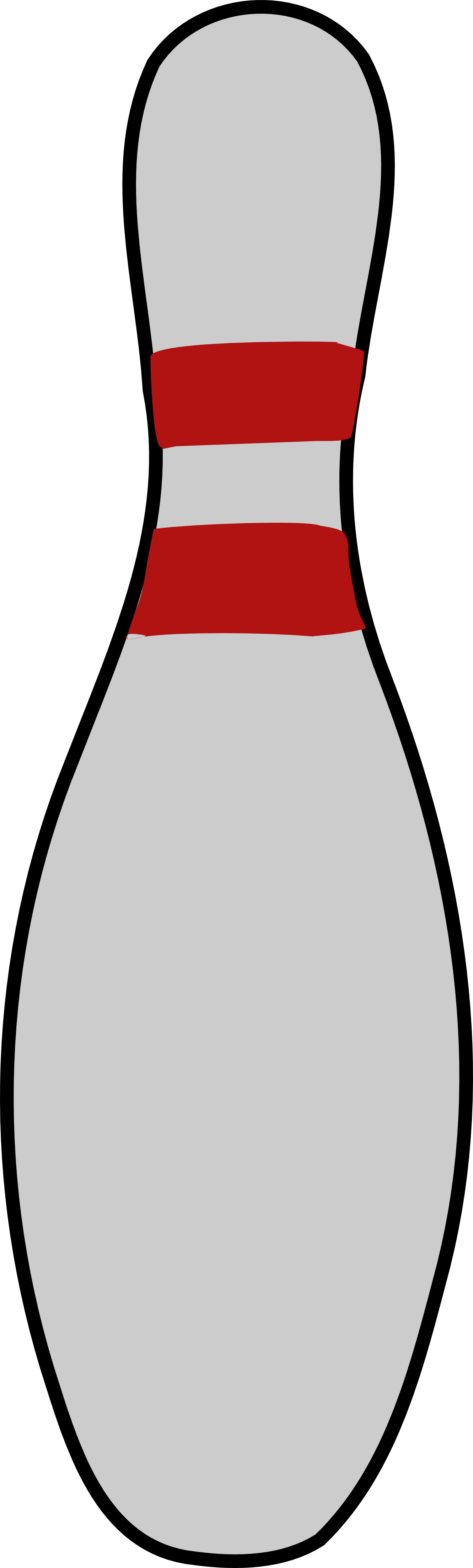 Bowling Pin 3 Coloring Book Colouring Letters Colouringbook Org