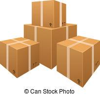 Box clipart stack box #3