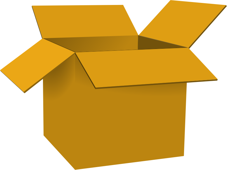 Boxes clipart free