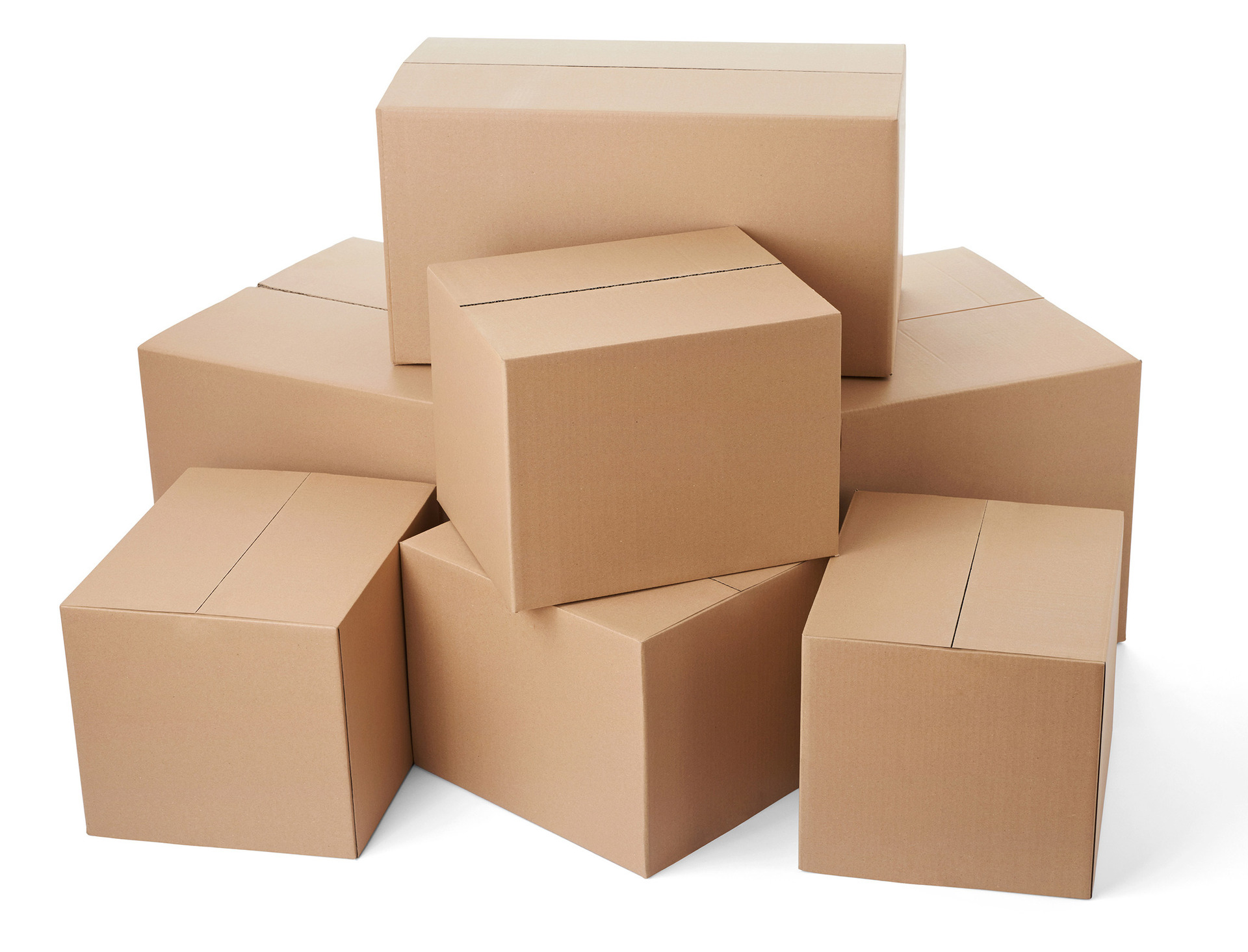 Boxes two red t es