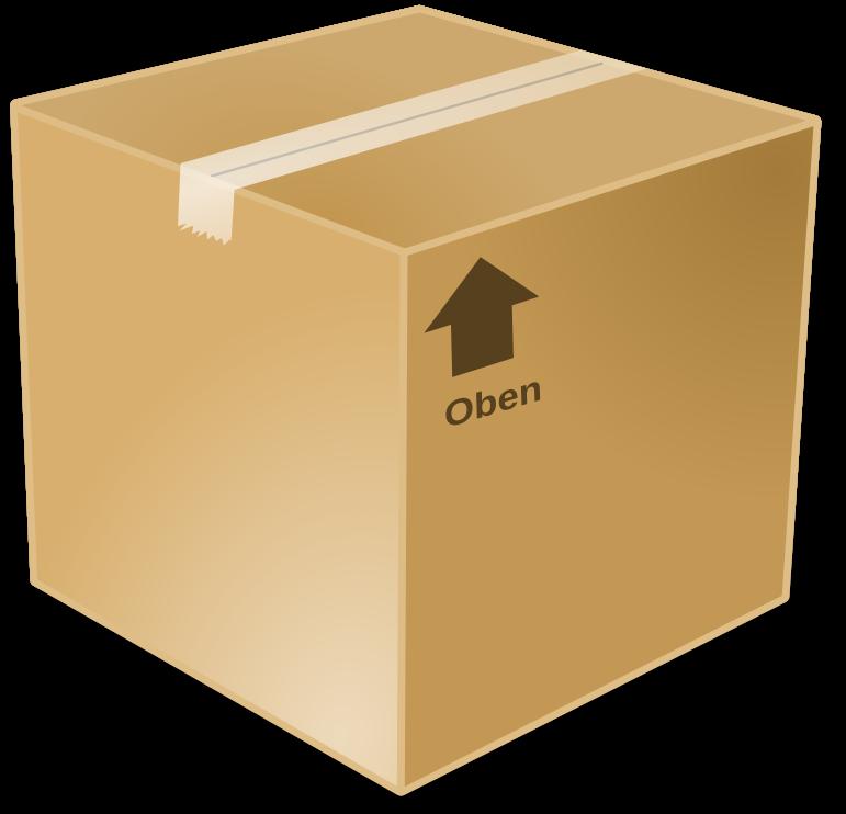 Closed Box Clipart
