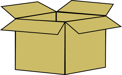 Moving Boxes Clipart
