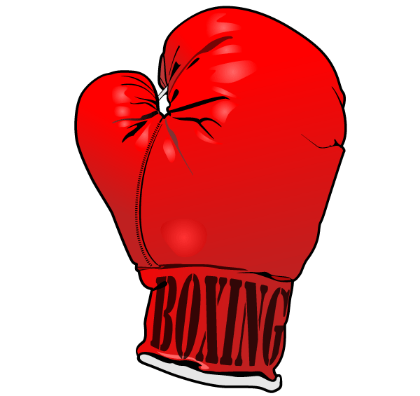 Boxing Gloves Clipart .