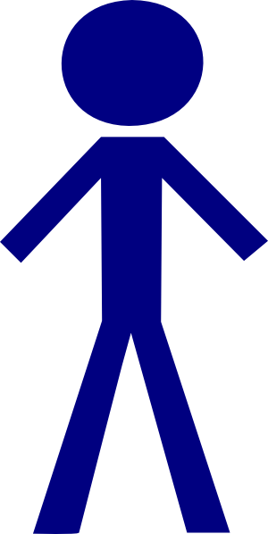 boy clipart stick figure