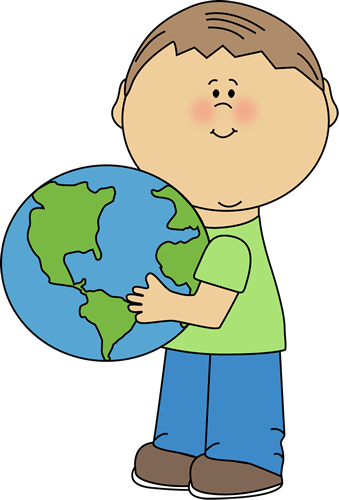Boy Hugging Earth