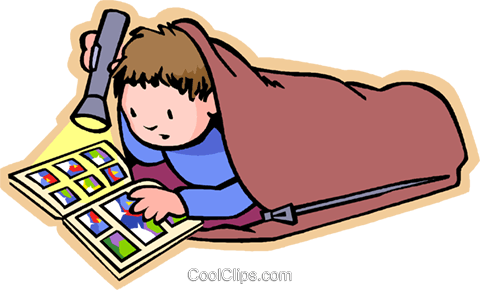 Boy in sleeping bag clipart clipartall