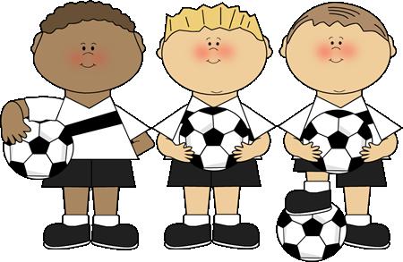 Boy Soccer Players