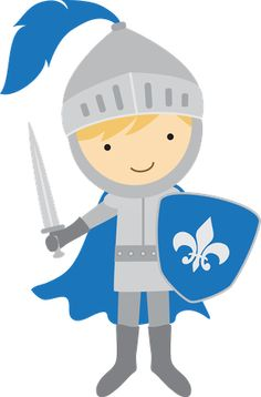 Boys knights on knight castles and coloring pages clipart