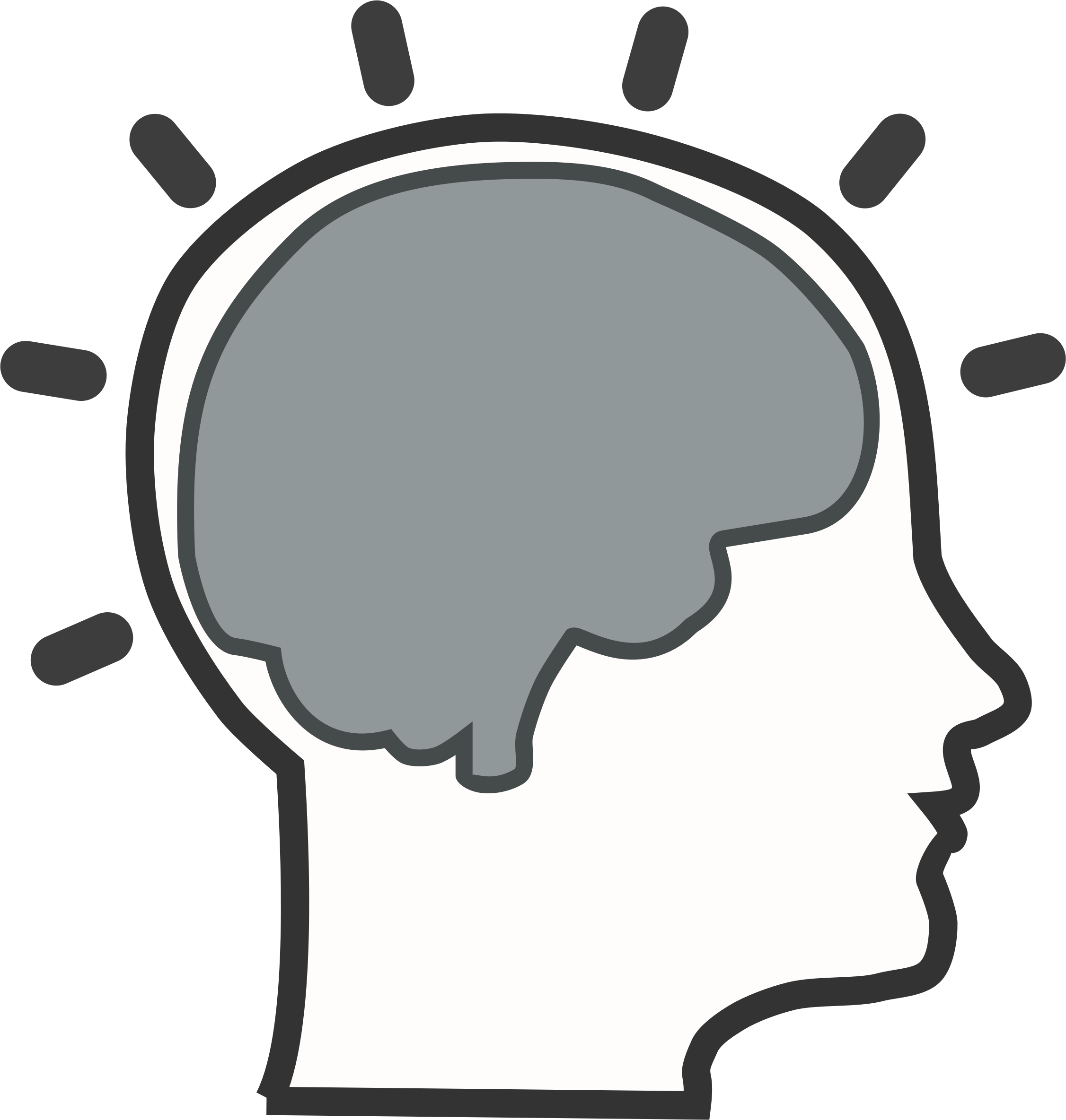 Brain Clipart. Psychology .