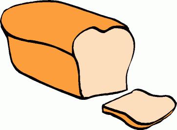 Bread clipart image 7