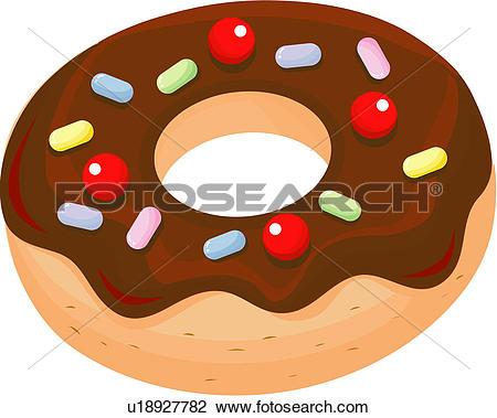 bread, doughnut, dessert, snack, cuisine, bakery, food