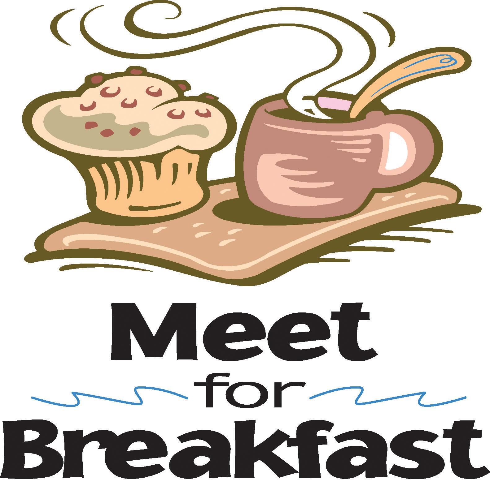 breakfast meeting clipart