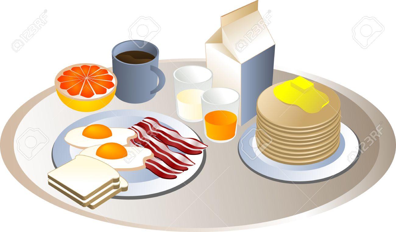Pancake clipart breakfast egg #3