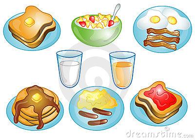 Popular items for breakfast clip