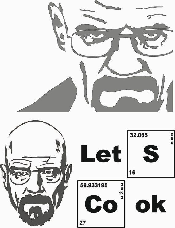 50% OFF SALE Breaking Bad letu0027s cook Clip Art by design7handicraft