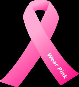 Breast cancer awareness pink ribbon clip art at clker vector