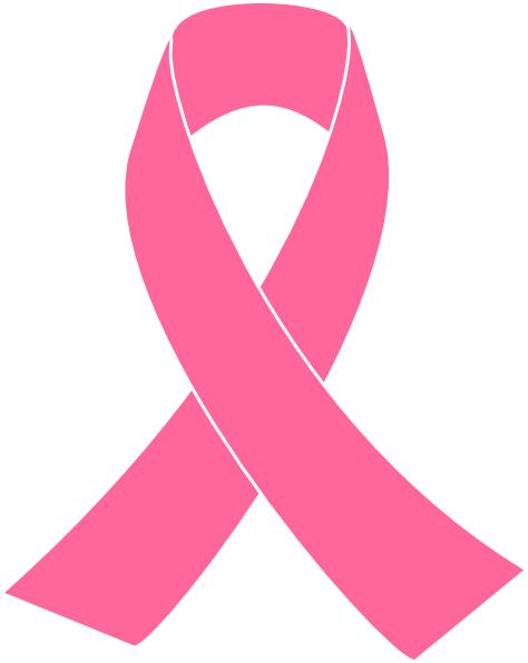 Breast cancer ribbon coloring sheet clipart