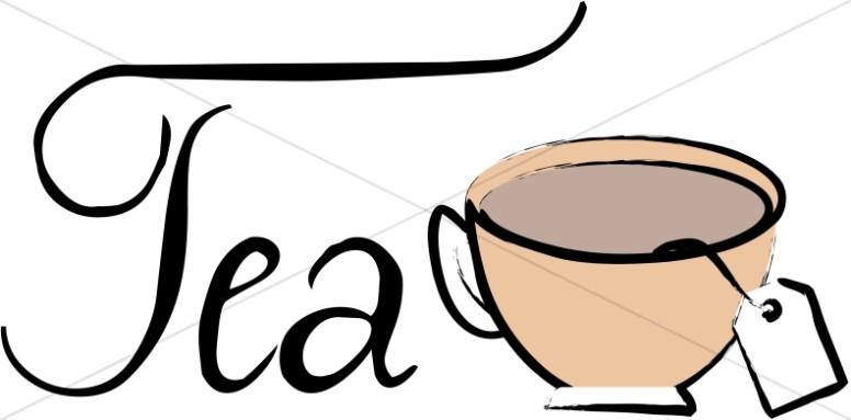 Brewing Tea Bag Clipart