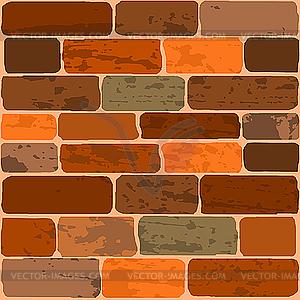 Brick Wall Vector Clip Art