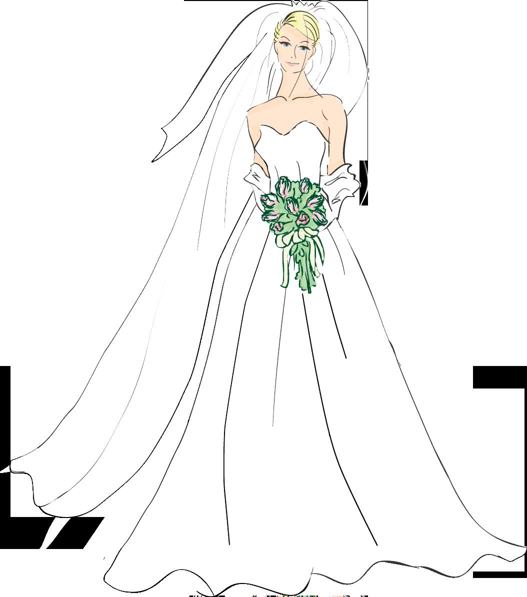 Bridal good wedding bride clipart photos image