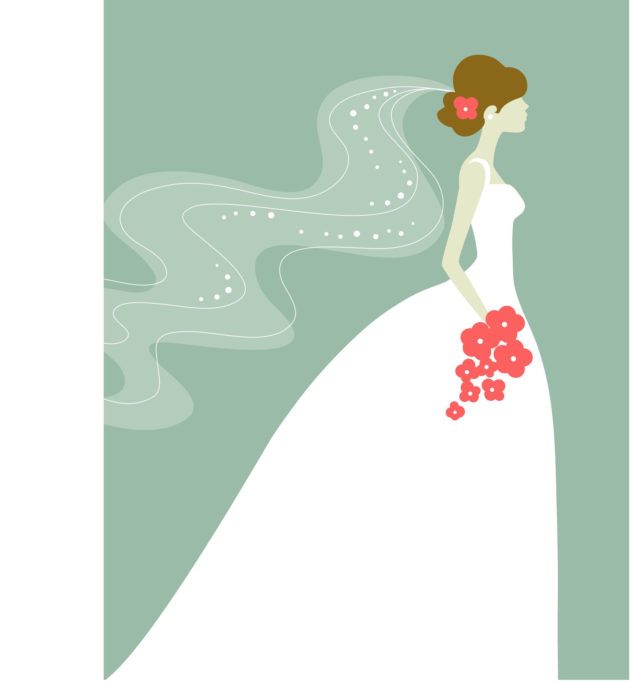 Bridal Cliparts #37234 (Licen - Bride Clipart